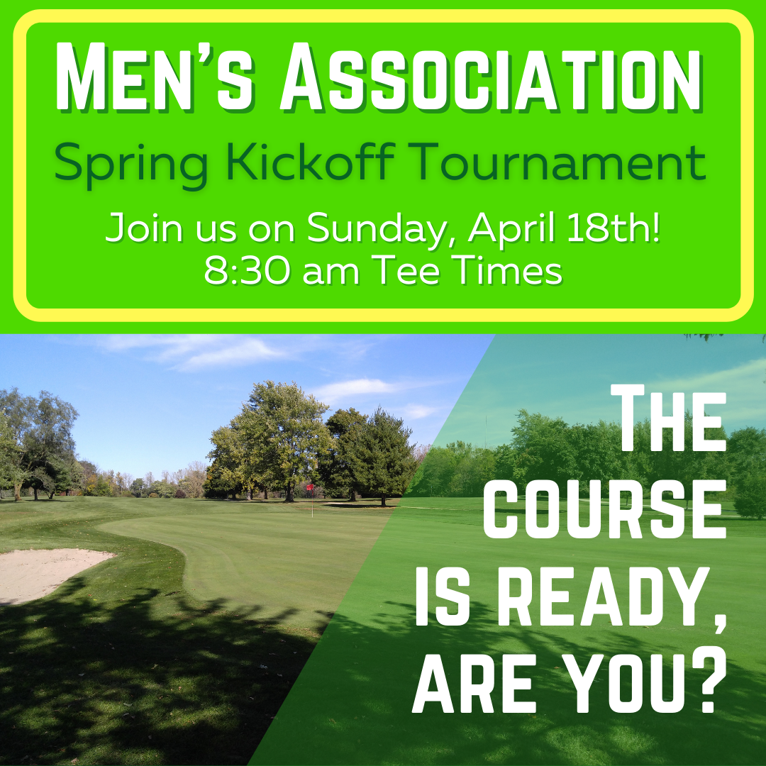 Men's Association Spring Kickoff Tournament